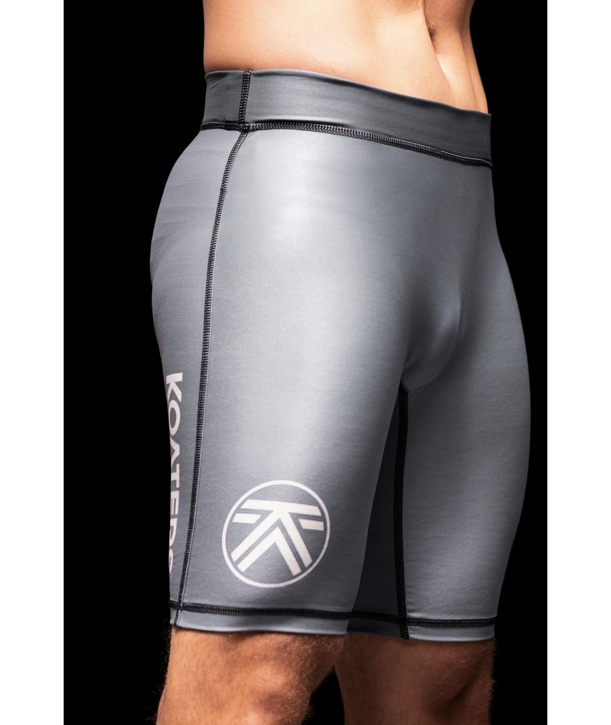 Shorts compresión IKEI - gris