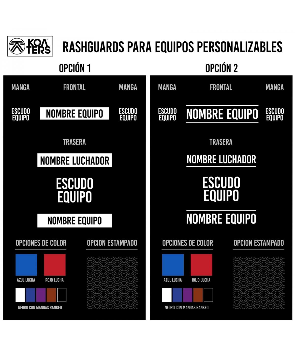 Rashguard M/C hombre...