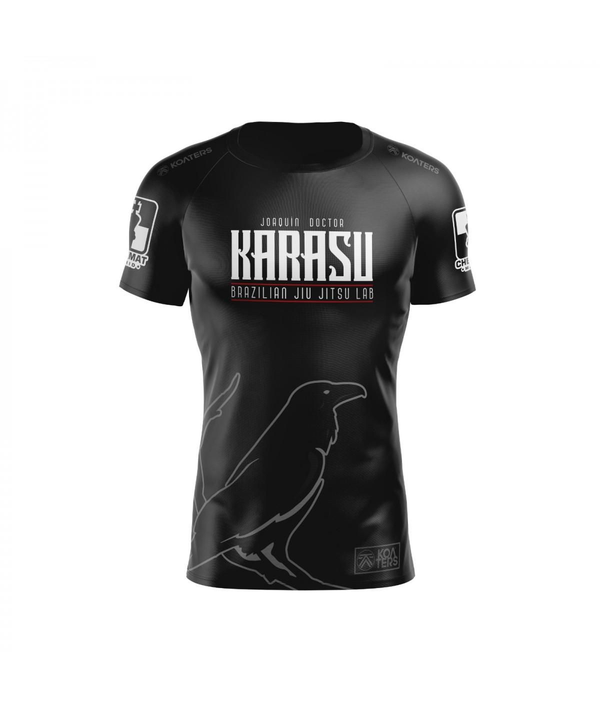 Rashguard M/C hombre KARASU