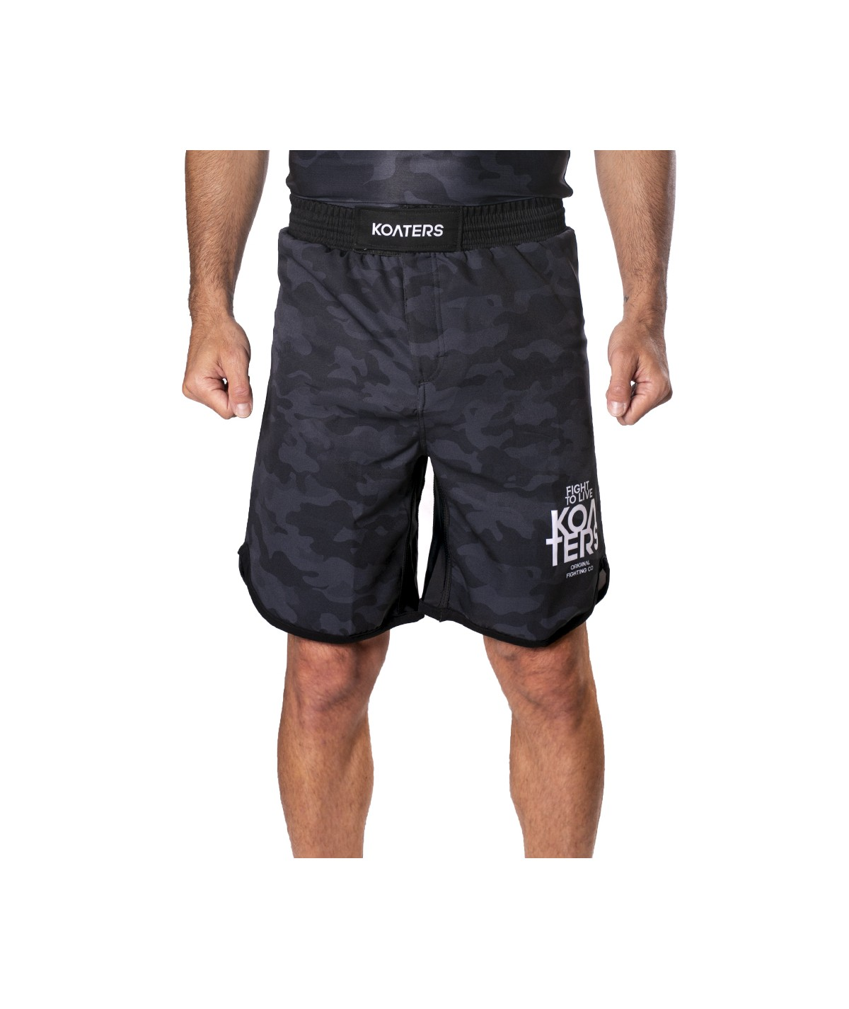 Fight Shorts MEISAI - negro